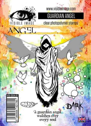Guardian Angel stamp set by Visible Image (VIS-GDA-01)