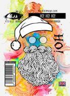 HO! HO! HO! Visible Image (10cm x 7cm) stamp (VIS-HOH-01)