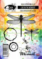Live in the Moment stamp set dragonfly