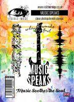 Music Speaks stamp set guitar soundwave