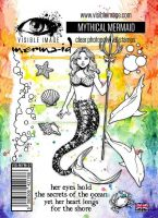 Mythical Mermaid stamp set by Visible Image (VIS-MYM-01)