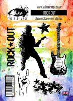 Rock Out stamp set guitarist