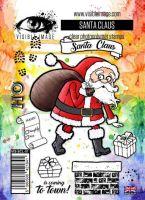 Santa Claus Visible Image A6 stamp set (VIS-SCL-01)