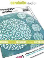 Vintage Wallpaper 6 Textured Coasters for Carabelle Studio by Birgit Koopsen (apc0001_r)