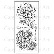 Vintage Flower Clear set (CS119D) by Hobby Art