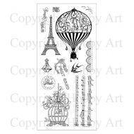 Vintage Hobby Art Clear Stamp Set (CS079D)