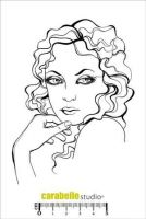 Visage Helena A6 - Carabelle Studio a6 cling rubber stamp (SA60105)