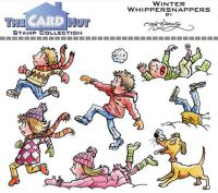 Whipper snappers a6 clear stamp set from Card Hut