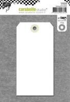 White Tag 125mm By 63 mm Carabelle Studio (tag0004b)