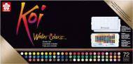 Sakura Koi watercolours Sketchbox 72 colours (UK ONLY - 1 max per customer) (XNCW72N)