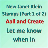 Janet Klein Stamps Part 1 Notification Aall and Create
