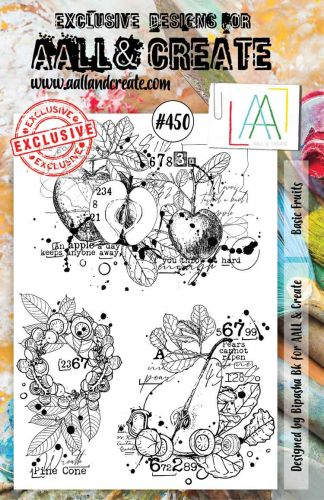 Basic Fruits (no. 450) by Bipasha BK Aall and Create A5 stamp (AAL00450)