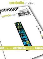 Alphabet Stamp Carabelle Studio Letter I Cling White Rubber 5cm (SMI0251)