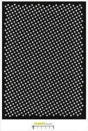 Carabelle Studio - Stencil A4 - Background Stars (TE40104)