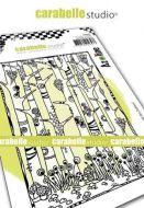 Carabelle Studio - Cling Stamp A6 - Dans la foret des Zolitins by Azoline (SA60487)