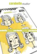 Carabelle Studio - Cling Stamp A6 - Face it ! By Kate Crane (SA60484)