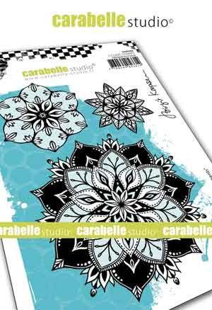 Carabelle Studio - Cling Stamp A6 - Floral Elements by Birgit Koopsen (SA60488)
