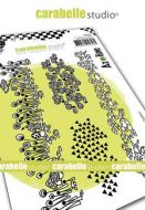 Carabelle Studio - Cling Stamp A6 - Frises des Zolitins by Azoline (SA60486)