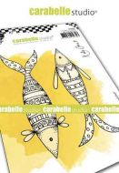 Carabelle Studio - Cling Stamp A6 - Well Dressed Fish by Kate Crane (SA60482)