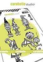 Carabelle Studio - Cling Stamp A6 - Zolitins des bois by Azoline (SA60485)