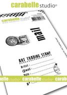 Carabelle Studio - Cling Stamp A7 - My Stamp no. 4 - Art Trading Stamp (SA70165)