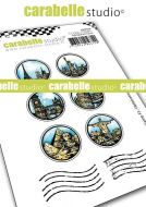 Carabelle Studio - Cling Stamp A7 - My Stamp no. 3 - Obliterations (SA70164)