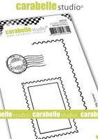 Carabelle Studio - Cling Stamps A7 Label (SA70156)