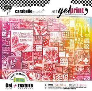 Gell Press with Art Printing Plate Kit
