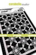 Carabelle Studio - Mask A6 - Floral Grid by Birgit Koopsen (MA60078)