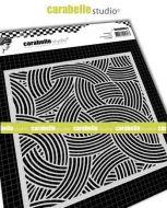 Carabelle Studio - Stencil square 6 inch - Rope - Cordage (TECA60003)