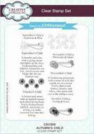 Autumn's Child Clear Stamp Set by John Lockwood - CEC808