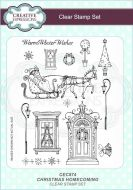 Christmas Homecoming Clear Stamp Set - CEC874