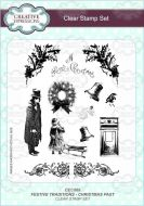 Festive Traditions - Christmas Past Clear Stamp Set - CEC869
