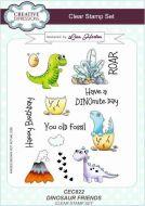 Dinosaur Friends Clear Stamp Set by Lisa Horton - CEC822