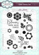 Dotty About You Clear Stamp Set by Lisa Horton - CEC847