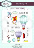 Let's Fly Away Clear Stamp Set by Lisa Horton - CEC846