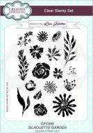 Silhouette Garden Clear Stamp Set by Lisa Horton - CEC849