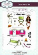 Summertime Gnome Clear Stamp Set by Lisa Horton - CEC843