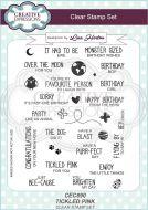 Tickled Pink Clear Stamp Set by Lisa Horton - CEC890