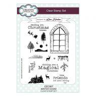 Winter Scene Clear Stamp Set by Lisa Horton - CEC807