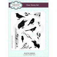 Rustic Birds Clear Stamp Set - CEC782
