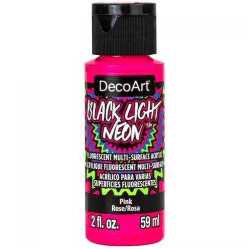 Pink Black Light Neon by Deco Art 59ml (CLDABLN01-2OZ)