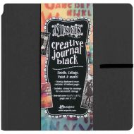 "Dyan Reaveley's Dylusions Creative Dyary Journal Black (UK Only) 8.75""X9"" (DYJ45557)"