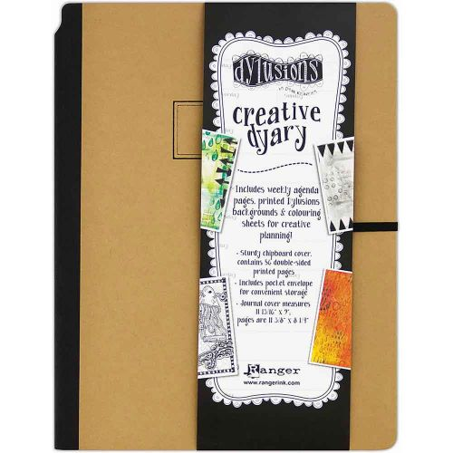"""Dyan Reaveley's Dylusions Creative Dyary Journal (UK Only) 11.8125""""X9"""""""