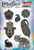 E Gwen Lafleur Paperartsy A5 Cling Rubber Stamp Set (EGL07)