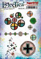 Gwen Lafleur (EGL06) PaperArtsy A5 cling rubber stamp set