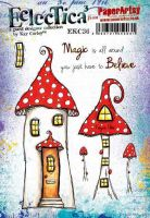 E Kay Carley Paperartsy A5 Cling Rubber Stamp Set (EKC36)