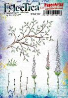 E Kay Carley Paperartsy A5 Cling Rubber Stamp Set (EKC37)