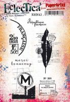 Sara Naumann (ESN43) PaperArtsy A5 cling rubber stamp set