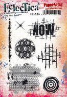 Seth Apter ESA15 Paperartsy a5 cling rubber stamp set